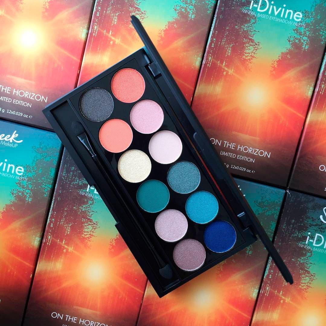 Палетка теней Sleek MakeUP i-Divine Eyeshadow Palette